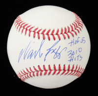 "Wade Boggs Signed OML Baseball Inscribed ""HOF 05"" & ""3,010 Hits"" (JSA COA) at PristineAuction.com"