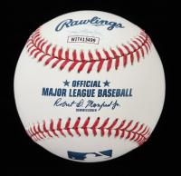 "Rafael Palmeiro Signed OML Baseball Inscribed ""569 HRs"" (JSA COA) at PristineAuction.com"