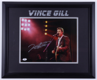 Vince Gill Signed 18.5x22.5 Framed Photo (JSA COA) (See Description) at PristineAuction.com