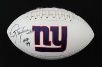 "Lawrence Taylor Signed Giants Logo Football Inscribed ""HOF 99"" (JSA COA) at PristineAuction.com"