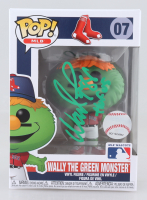 """Wade Boggs Signed Red Sox #07 Wally The Green Monster Funko Pop! Vinyl Figure Inscribed """"HOF 05"""" (JSA COA) at PristineAuction.com"""
