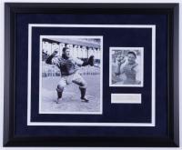 Ernie Lombardi Signed 18.5x22.5 Custom Framed Cut Display (JSA COA) (See Description) at PristineAuction.com