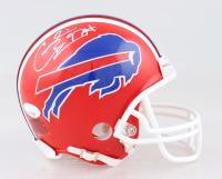 Cornelius Bennett Signed Bills Mini Helmet (JSA COA) at PristineAuction.com
