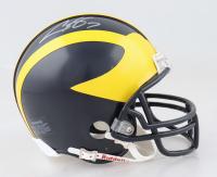 Chad Henne Signed Michigan Wolverines Mini Helmet (JSA COA) at PristineAuction.com