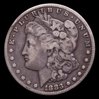 1883-S Morgan Silver Dollar at PristineAuction.com