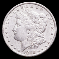 A Morgan Silver Dollar 7 Tailfeathers Rev of 79 at PristineAuction.com