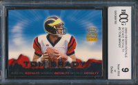 Tom Brady 2000 Crown Royale Rookie Royalty #2 (BCCG 9) at PristineAuction.com