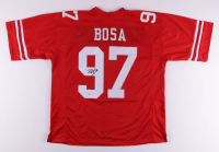 Nick Bosa Signed Jersey (Beckett COA) at PristineAuction.com