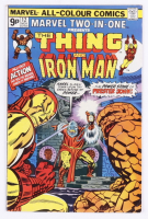 """1975 """"Marvel Two-In-One: The Thing and Iron Man"""" Issue #12 Marvel Comic Book at PristineAuction.com"""