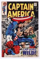 "1968 ""Captain America"" Issue #106 Marvel Comic Book at PristineAuction.com"