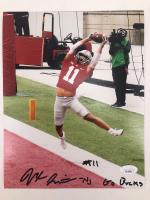 "Jaxon Smith-Njigba Signed Ohio State Buckeyes 8x10 Photo Inscribed ""Go Bucks"" (JSA COA) at PristineAuction.com"