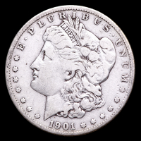 1901-S Morgan Silver Dollar at PristineAuction.com