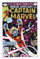 1979 Marvel Spotlight on Captain Marvel Issue #1 Marvel Comic Book at PristineAuction.com