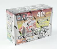 2020 Panini Mosaic Football 10-Pack Mega Box (See Description) at PristineAuction.com