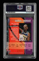 Kareem Abdul-Jabbar Signed 1995 Australian Futera Abdul-Jabbar Adidas Promo #K1 (PSA Encapsulated) at PristineAuction.com