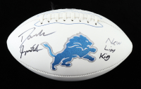 """D'Andre Swift Signed Lions Logo Football Inscribed """"New Lion King"""" (JSA COA) at PristineAuction.com"""