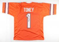 Kadarius Toney Signed Jersey (JSA COA) at PristineAuction.com