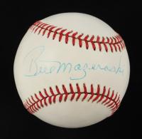 Bill Mazeroski Signed ONL Baseball (JSA COA) at PristineAuction.com