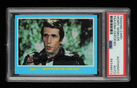 Henry Winkler Signed 2013 Topps 75th Anniversary #66 (PSA Encapsulated) at PristineAuction.com