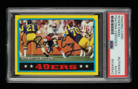 Roger Craig Signed 1986 Topps #155 (PSA Encapsulated) at PristineAuction.com
