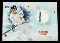 Aaron Judge 2020 Topps Walmart Holiday Relics #WHRAJ at PristineAuction.com