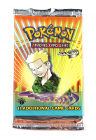 2000 Pokemon TCG Gym Heroes First Edition Booster Pack with (11) Cards at PristineAuction.com