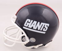 """Lawrence Taylor Signed Giants Mini Helmet Inscribed """"HOF 99"""" (Beckett COA) at PristineAuction.com"""