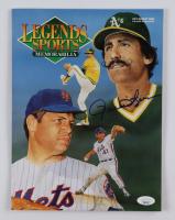 "Rollie Fingers Signed 1992 ""Legends Sports Memorabilia"" Magazine (JSA COA) at PristineAuction.com"
