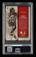 Eli Manning Signed 2015 Panini Contenders Draft Picks Old School Colors #20 (PSA Encapsulated) at PristineAuction.com