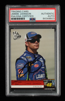 Jimmie Johnson Signed 2009 Press Pass #CL (PSA Encapsulated) at PristineAuction.com