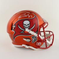 Ronald Jones II Signed Buccaneers Full-Size Flash Alternate Speed Helmet (Beckett Hologram) at PristineAuction.com