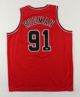 Dennis Rodman Signed Jersey (Beckett Hologram) (See Description) at PristineAuction.com