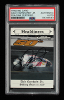 Dale Earnhardt Jr. Signed 2008 Press Pass Speedway #91 (PSA Encapsulated) at PristineAuction.com