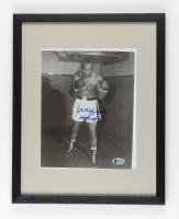 Jersey Joe Walcott Signed 12x15 Custom Framed Photo (Beckett COA) at PristineAuction.com