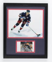 Mark Messier Signed Oilers 12x15 Custom Framed Photo (Beckett COA) at PristineAuction.com