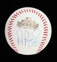 Albert Pujols Signed 2011 World Series Baseball (PSA Hologram & Pujols Hologram) at PristineAuction.com