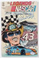 "Richard Petty Signed ""Legends of Nascar"" Issue #2 Vintage Comic Book (PSA COA) (See Description) at PristineAuction.com"