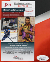 Clark Gillies & Bryan Trottier Signed Islanders 11x17 Photo (JSA COA) at PristineAuction.com