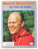 Gerald Ford Signed 1974 Sports Illustrated Magazine (JSA LOA) (See Description) at PristineAuction.com