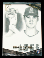 Shohei Ohtani 2018 Topps Gallery Masterpiece #M30 at PristineAuction.com