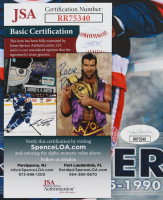 Bryan Trottier Signed Islanders 11x17 Photo (JSA COA) at PristineAuction.com
