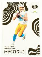 Justin Herbert 2020 Panini Illusions Mystique #3 at PristineAuction.com