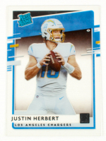 Justin Herbert 2020 Chronicles Clearly Donruss RR #RRJH at PristineAuction.com