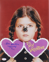 """Lisa Loring Signed """"The Addams Family"""" 11x14 Photo Inscribed """"...Love"""" & """"Wednesday"""" (PSA COA) at PristineAuction.com"""