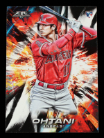 Shohei Ohtani 2018 Topps Fire #150 RC at PristineAuction.com