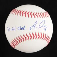"Aramis Ramirez Signed OML Baseball Inscribed ""3X All Star"" (Beckett Hologram) at PristineAuction.com"