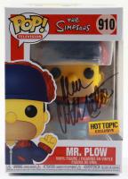 "Dan Castellaneta Signed ""The Simpsons"" #910 Mr. Plow Funko Pop! Vinyl Figure (JSA COA) (See Description) at PristineAuction.com"