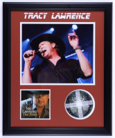 """Tracy Lawrence Signed """"The Rock"""" 18x22 Custom Framed CD Album Booklet Display (JSA COA) (See Description) at PristineAuction.com"""