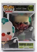 "Dan Castellaneta Signed ""The Simpsons: Treehouse of Horror"" #1030 Vampire Krusty Funko Pop! Vinyl Figure (JSA COA) (See Description) at PristineAuction.com"