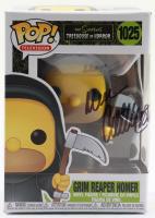 "Dan Castellaneta Signed ""The Simpsons: Treehouse of Horror"" #1025 Grim Reaper Homer Funko Pop! Vinyl Figure (JSA COA) (See Description) at PristineAuction.com"